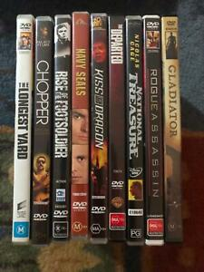 DVDs Various Titles Currimundi Caloundra Area Preview