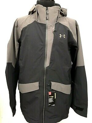 Under Armour Men Storm Boundless Ski Snowboard Shell Jacket 2XL Waterproof $250