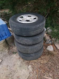 245/70/16 Tyres on Holden Colorado Rims Sunbury Hume Area Preview