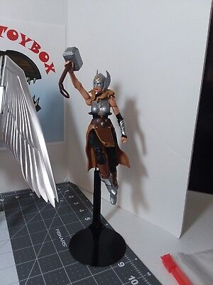 x3 Marvel Legends S.H. Figuarts BLACK METAL FLIGHT STANDS for Action Figures x3