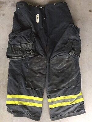Firefighter Janesville Lion Apparel Turnout Bunker Pants 42x32 07 Black Costume