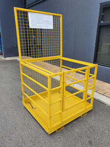New compliant Forklift Work Platform 250kg Man Cage Malaga Swan Area Preview