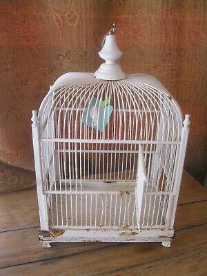 VINTAGE BIRDCAGE-SHABBY-FARMHOUSE-DISTRESSED -GREAT DECOR. SPRING-SUMMER