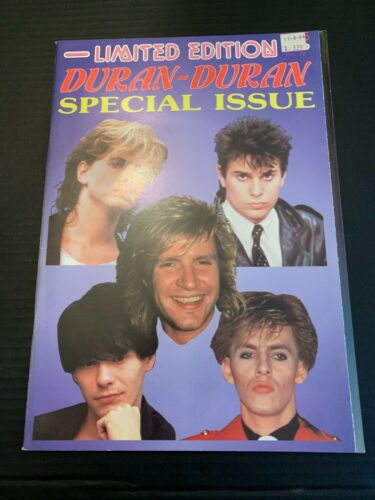 Limited Edition Duran Duran Special Issue NO 19 Magazine