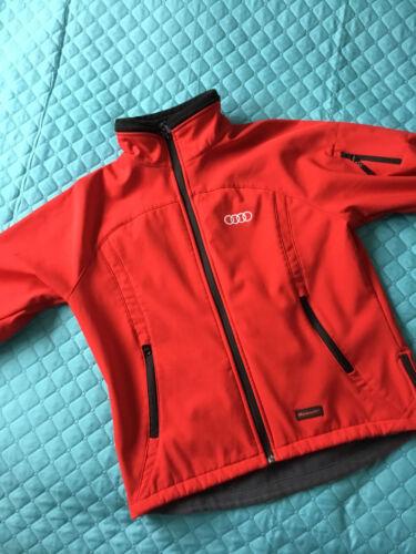 Audi Softshell Jacke Rot Damen Größe S/M
