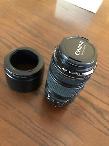 Canon 70-300mm IS USM with ET-65B Lens Hood