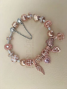 Genuine Pandora Rose gold bracelet & all genuine charms brand new Hanwood Griffith Area Preview