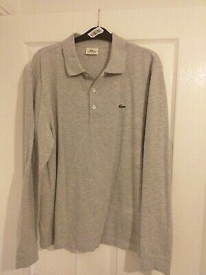 Mens Lacoste Polo Shirt Size 5