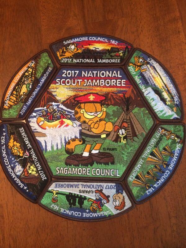 2017 JAMBOREE Sagamore council Garfield Patch Set
