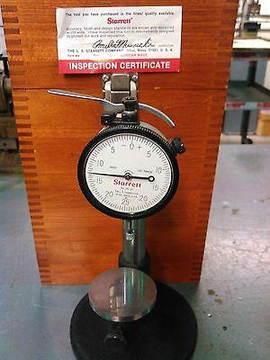 Starrett- Dial-indicator-125-range-.0005 Base Inspection Gauge Usa No-25-131