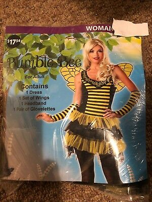 Halloween Costume Woman Bumblebee Small or Large