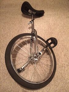 "Brand new 20"" unicycle"