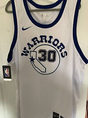 BRAND NEW AUTHENTIC NBA Golden State Warriors Jersey; Steph Curry #30