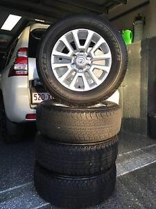 "Toyota Land Cruiser Prado 150/120 Series 18"" Alloy Wheels & Tyres Seven Hills Brisbane South East Preview"