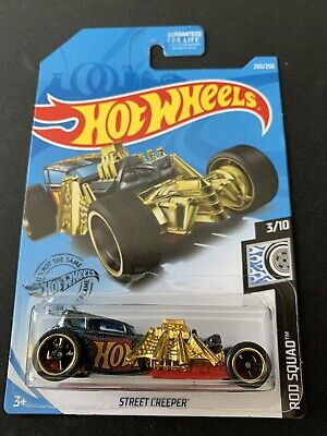 2019 HOT WHEELS STREET CREEPER SUPER TREASURE HUNT ERROR W/PROTECTOR