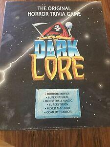 Dark Lore Horror Trivia Game