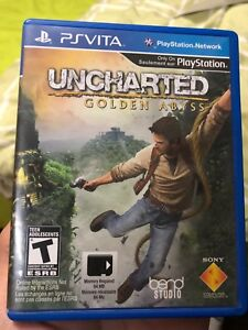 Uncharted Golden Abyss - PsVita