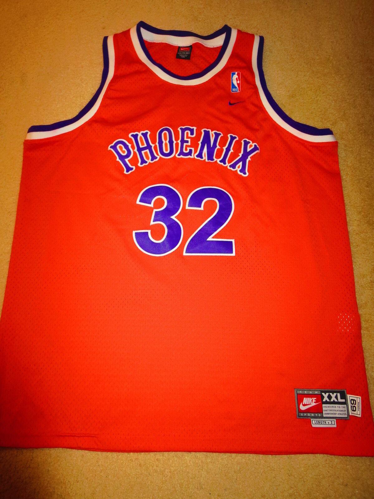 2c6c41f2bcf ... Amare Stoudemire 1 Phoenix Suns 1969 NBA Orange Nike Jersey 2XL mens ...