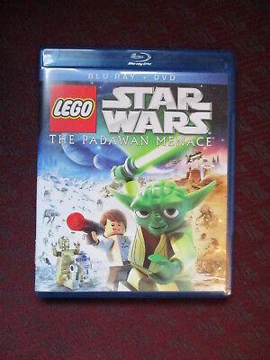 LEGO Star Wars: The Padawan Menace (Blu-ray Disc, 2011, 2-Disc