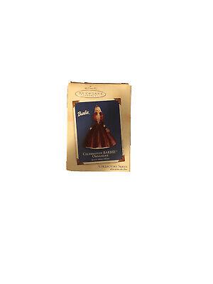 Hallmark 2002 CELEBRATION BARBIE Special Edition Keepsake Ornament #3 in Series