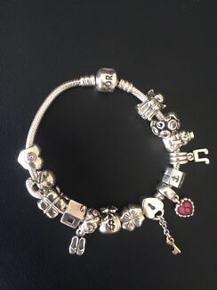 Pandora bracelet and charms East Melbourne Melbourne City Preview