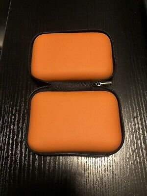 Finger Pulse Oximeter Storage Case Rate Monitor Zipper Cover Bag Pouch Orange