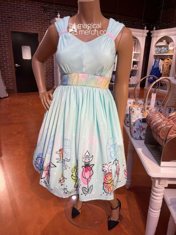 2021 Disney Parks Dress Shop It's A Small World Dress Women 2X Plus
