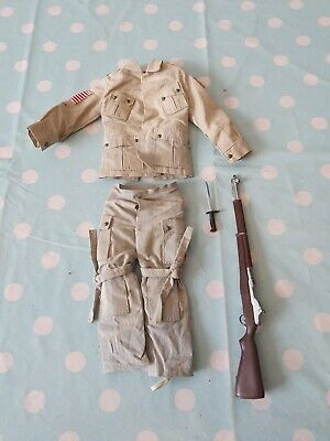 vintage action man  82nd airborne us paratrooper Part Outfit Used Condition