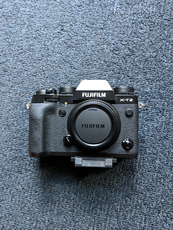 Fujifilm X-T2 + 4 years extended warranty.