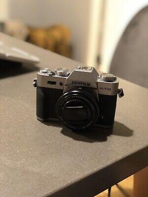 Fujifilm XT-10 Mirrorless Camera + 27mm pancake lens