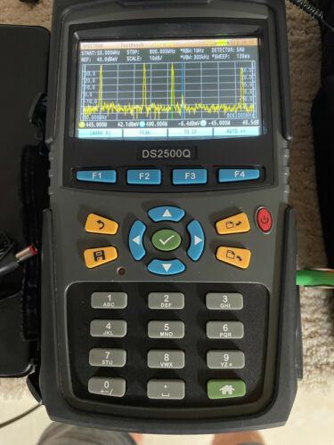Portable Spectrum Analyzer with NTSC-M/QAM Testing - Refurbished - Calibrated