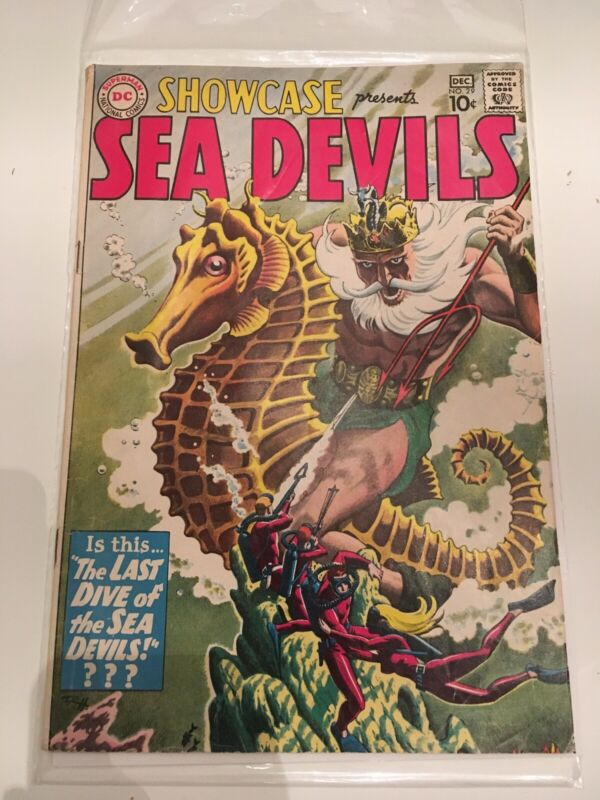 Silver Age Showcase Sea Devils #29 (Nov-Dec 1960, DC)