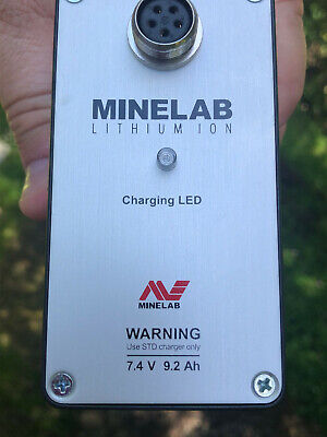Mlb Minelab Battery Gpx 4000 4500 New Never Used Or Charged Spare Retail 441