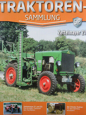 Zeitschrift TRAKTOREN-SAMMLUNG, Nr. 52, Zettelmayer Z1