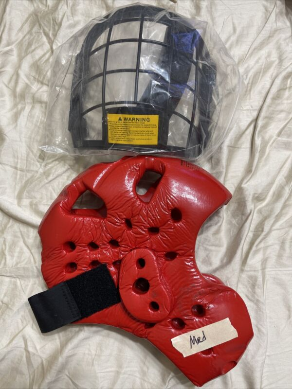 One RedMan XP Helmet And Mask Boxing Mma