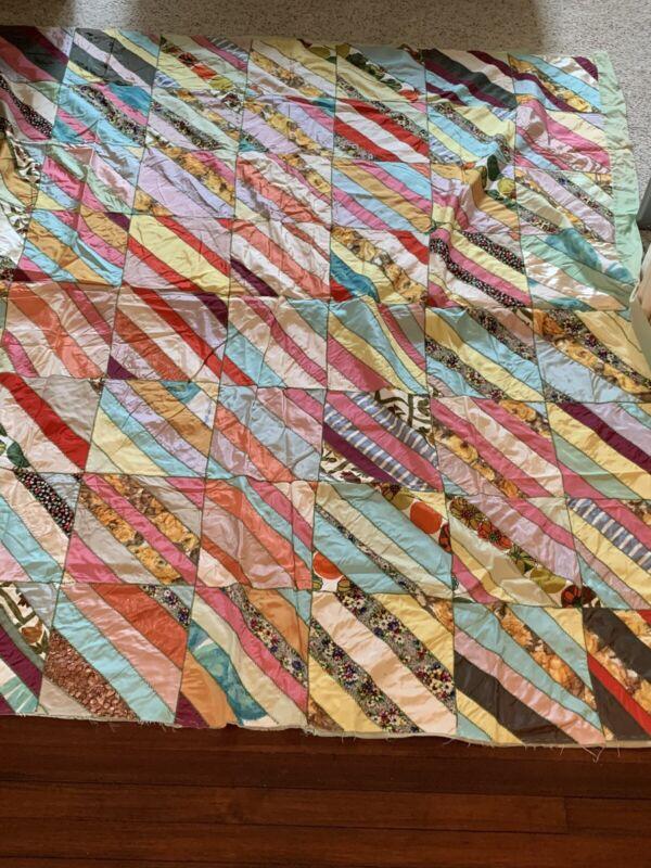 Rare Antique Patchwork Quilt 1930's