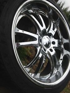 "22"" Foose rims with tires"
