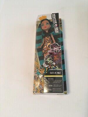 New Monster High Cleo De Nile Girl's Toy Doll Pow Mummy