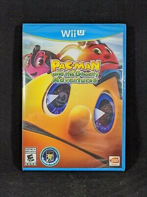 Pac-Man and the Ghostly Adventures Nintendo Wii U Brand New Factory Sealed