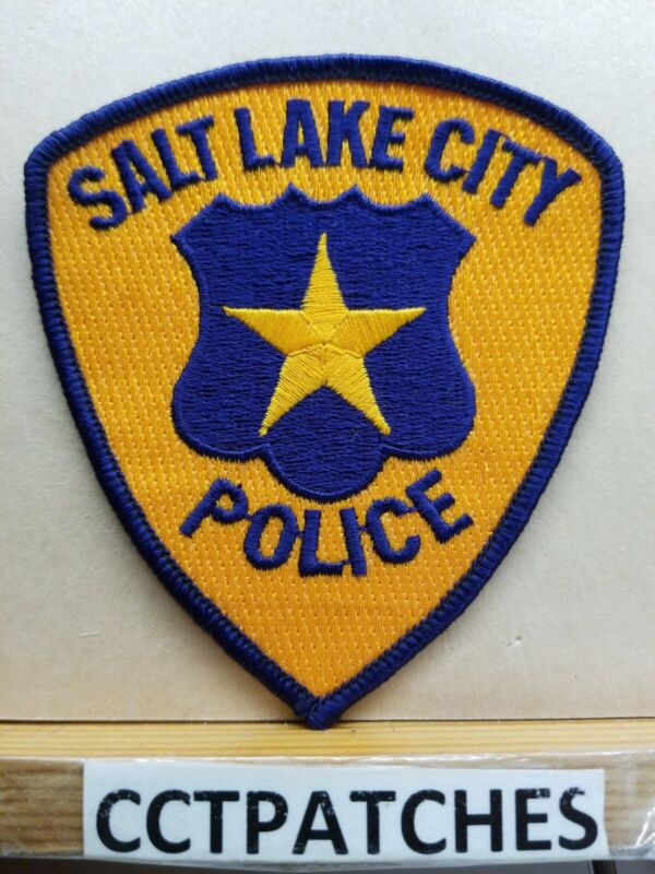 SALT LAKE CITY, UTAH POLICE SHOULDER PATCH UT