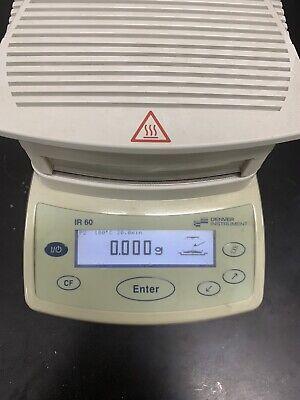 Denver Instruments Moisture Analyzer Ir-60 Excellent Condition
