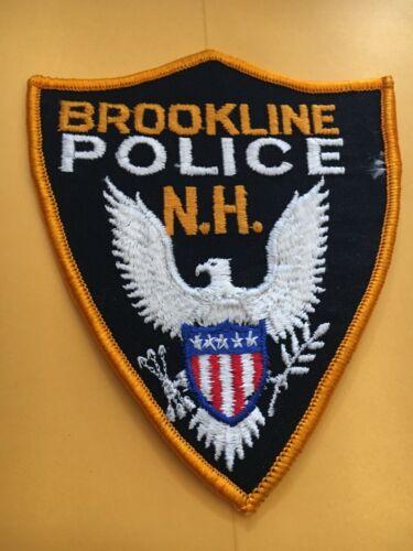 Brookline New Hampshire Vintage Police Patch version 3