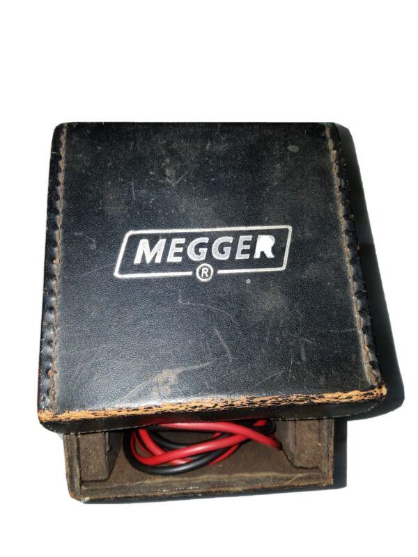 Vintage Meggar Insulation Tester Biddle Instruments