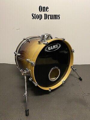 "Mapex Pro M Series Bass Drum 18""x14"" / Sunburst Fade / Hardware / Kick Drum"