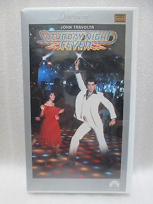 SATURDAY NIGHT FEVER - Japanese original  VHS  RARE