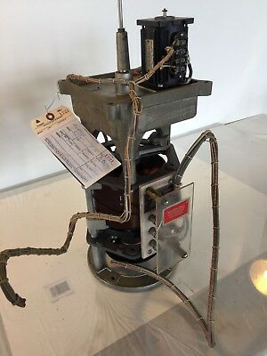 Powerstat Variable Auto Transformer With Diehl A.c. Control Motor