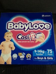 Nappies 9-14kg baby love Cardiff Lake Macquarie Area Preview