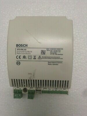 Bosch Security Systems Aps-pbc-60 Power Supply
