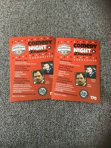 Comedy night and tickets.