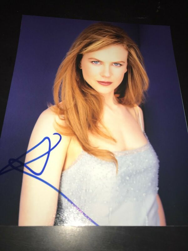 NICOLE KIDMAN SIGNED AUTOGRAPH 8x10 PHOTO IN PERSON SEXY BABE OSCARS PHOTO COA D